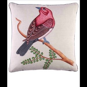 John Robshaw Bird Print Pillow